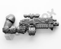 Iron hands Primaris Upgrades Bolt Rifle