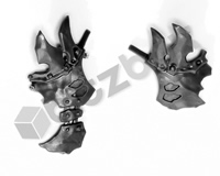 Ironjawz Orruk Brutes Body Front Armour B