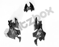 Ironjawz Orruk Brutes Body Front Armour E