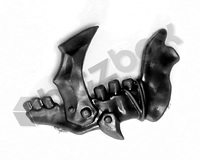 Ironjawz Orruk Brutes Shoulder Pad Accessory E