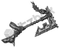 Warriors of Chaos Khorne Skullreapers Two Handed Axe