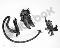 Necromunda Escher Gang Shock Whip and Combi Weapon