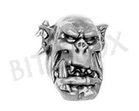 Ork Flash Gitz Head F