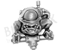 Ork Flash Gitz Kaptin Squig