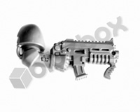 Primaris Space Marine Reivers Bolt Carbine D