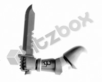 Primaris Space Marine Reivers Combat Knife D