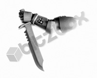 Primaris Space Marine Reivers Combat Knife F