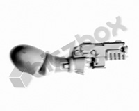 Primaris Space Marine Reivers Heavy Bolt Pistol D