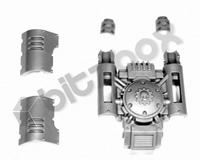 Primaris Redemptor Dreadnought Exhausts