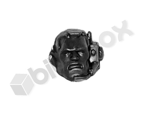Space Marines Scout Head A