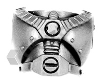 Space Marine Assault Squad Torso Front E