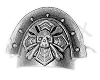 Space Marine Sternguard Veterans Shoulder Pad C