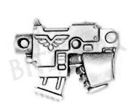Space Marine Vanguard Veterans Bolt Pistol B
