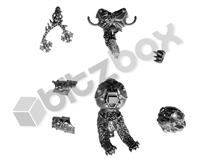 Space Wolves Wulfen Pack Leader Parts