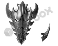 Tyranid Zoanthropes Neurothrope Head Crest