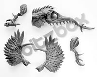 Warcry Chaotic Beasts Raptoryx Body