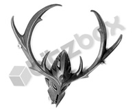 Wood Elves Wild Riders Wild Hunter Head
