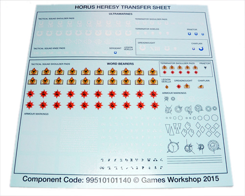 Betrayal At Calth Transfer Sheet