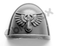 Blood Angels Primaris Upgrade Shoulder Pad A