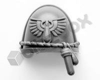 Blood Angels Primaris Upgrade Shoulder Pad B