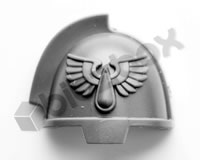 Blood Angels Primaris Upgrade Shoulder Pad C