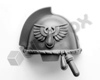 Blood Angels Primaris Upgrade Shoulder Pad D