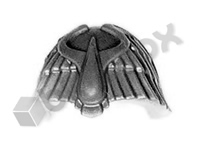Blood Angels Terminator Shoulder Pad H