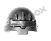 Blood Angels Terminator Shoulder Pad I