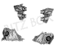 Chaos Space Marines Helbrute Heavy Bolters