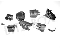 Chaos Space Marines Helbrute Power Fist Left