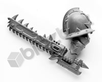 Chaos Space Marines Chainsword A