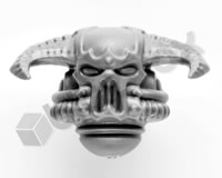 Chaos Space Marines Head F