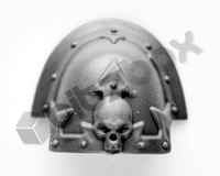 Chaos Space Marines Shoulder Pad M