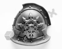 Chaos Space Marines Shoulder Pad R