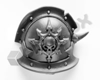 Chaos Space Marines Shoulder Pad T