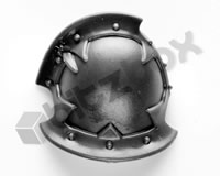 Chaos Space Marines Shoulder Pad F