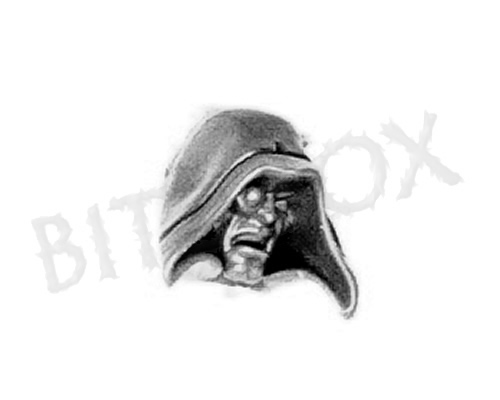 Dark Angels Deathwing Knights Hooded Head B