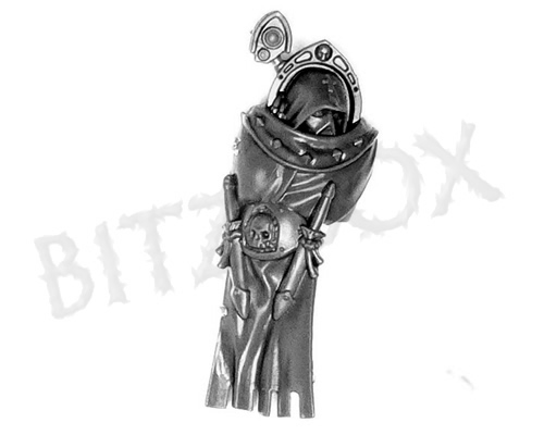 Dark Angels Deathwing Knights Robed Torso Front D