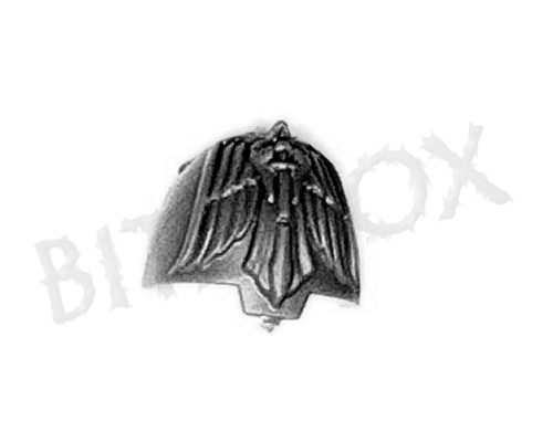Dark Angels Deathwing Knights Shoulder Pad C