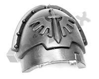 Dark Angels Chapter Upgrade Shoulder Pad C