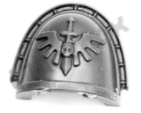 Dark Angels Chapter Upgrade Shoulder Pad D