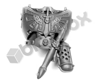 Dark Angels Chapter Upgrade Torso Front