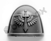 Dark Angels Primaris Upgrade Shoulder Pad A