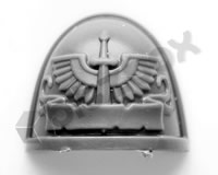 Dark Angels Primaris Upgrade Shoulder Pad B