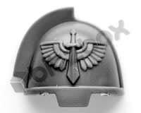 Dark Angels Primaris Upgrade Shoulder Pad C