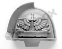 Dark Angels Primaris Upgrade Shoulder Pad D