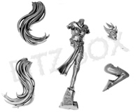 Dark Elves Witch Elves Body