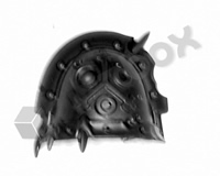 Death Guard Plague Marines Shoulder Pad J
