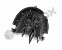 Death Guard Plague Marines Shoulder Pad H
