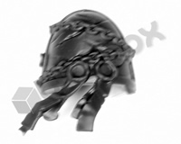 Deathwatch Veterans Black Shield Shoulder Pad
